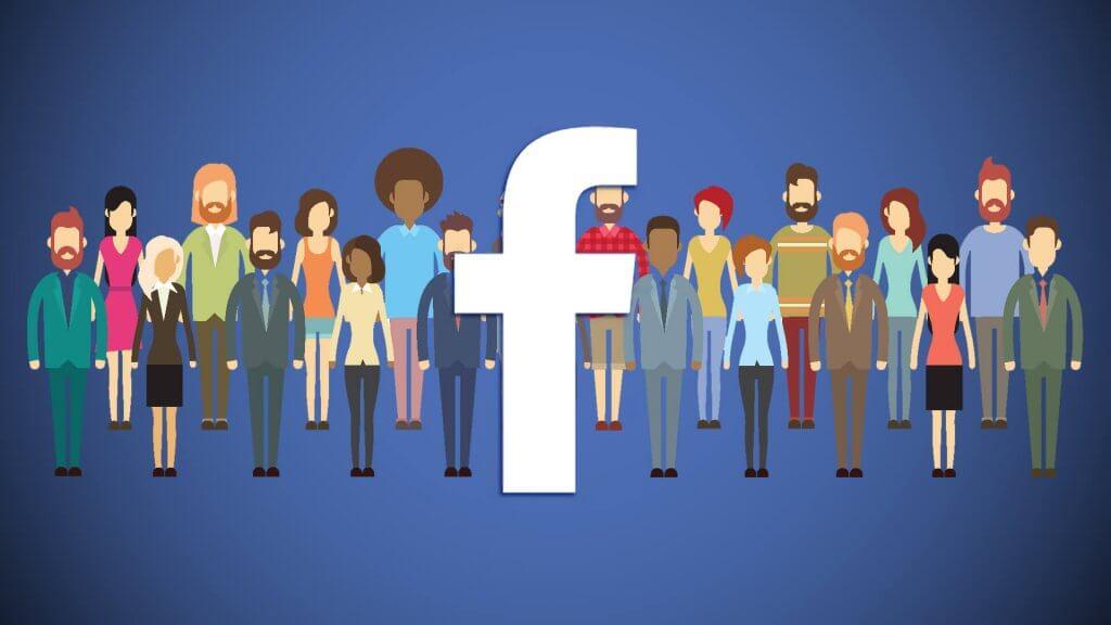 O Facebook conta com 2,2 bilhões de usuários mensais.
