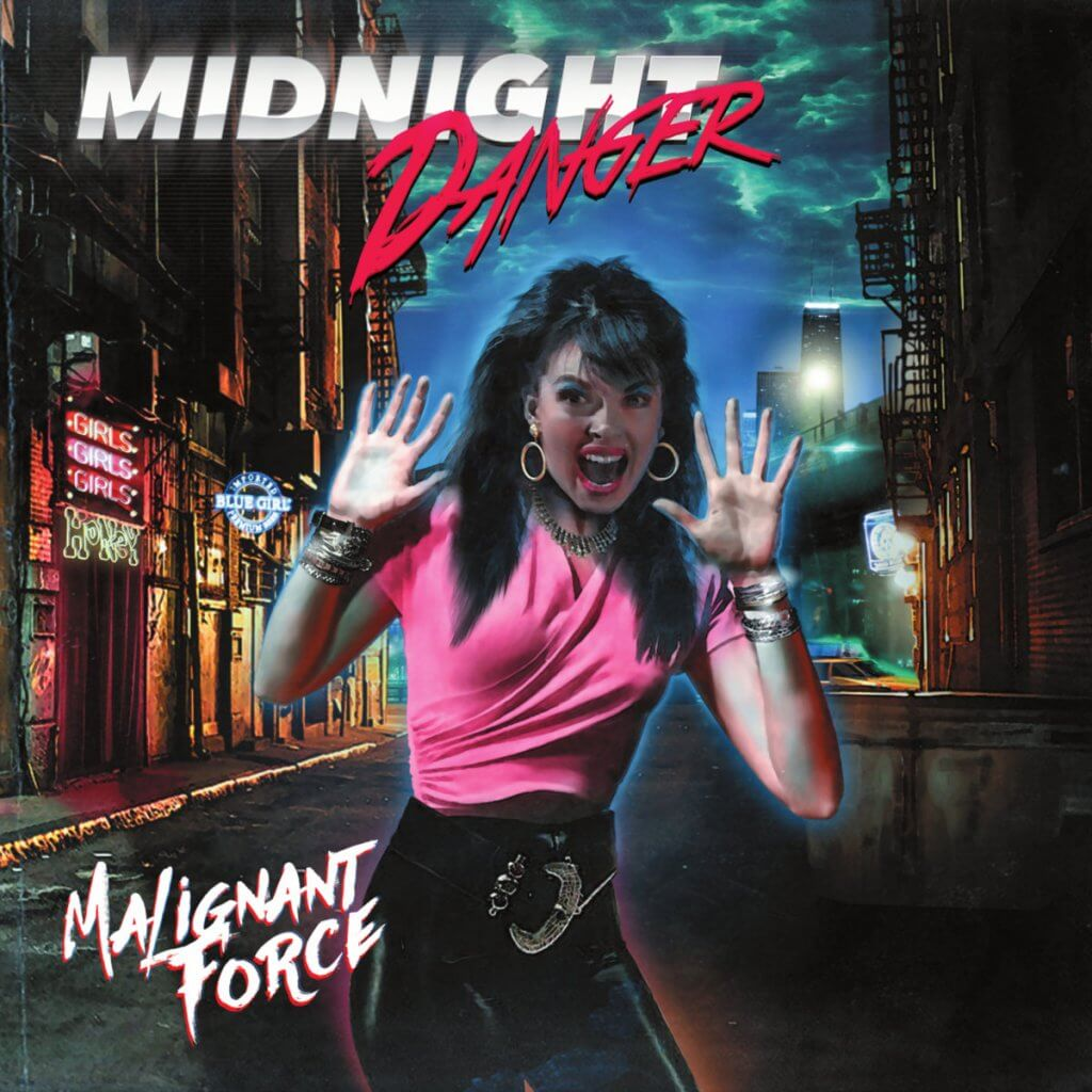 """Midnight Danger lançou um dos melhores álbuns da música eletrônica de 2018: """"Malignant Force""""."""
