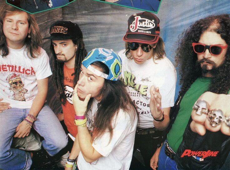 Faith No More, um dos maiores sucessos do metal alternativo.