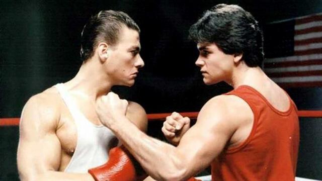"""""""Retroceder Nunca, Render-se Jamais"""", o primeiro grande filme de Jean-Claude Van Damme."""