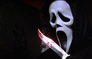 Ghostface é uma das máscaras mais aterrorizantes da década de 90.